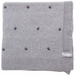 ZOPA Detská deka Dots, Grey