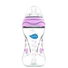 Nuvita Fľaštička s anti-kolickým systémom, 250 ml - Pink