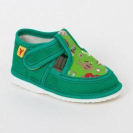 RAK Chlapčenské papučky - zelené