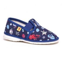 RAK Chlapčenské obrázkové papučky - modré