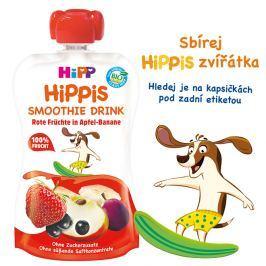 HiPP BIO Smoothie Jablko-Banán-Červené ovocie 120 ml
