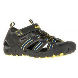 Kamik Chlapčenské sandále CRAB - tmavo šedé