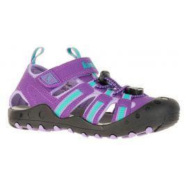 Kamik Dievčenské sandále CRAB - fialovo-zelené