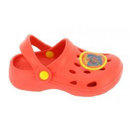 Disney by Arnetta Chlapčenské sandále ANGRY BIRDS - červené