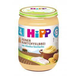 HiPP Jemná zemiaková kaša s aljašskú treskou, 190g