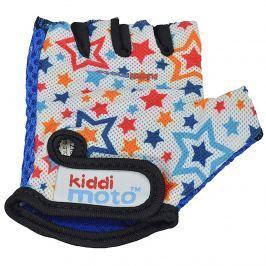 Kiddimoto Cyklistické rukavice Stars - farebné, veľkosť S