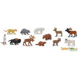 Safari LTD Tuba - Zvieratá Severnej Ameriky