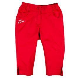 MMDadak Dievčenské nohavice Lodička - červené