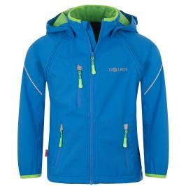 Trollkids Chlapčenská bunda Rondane s odopínateľnými rukávmi - modrá