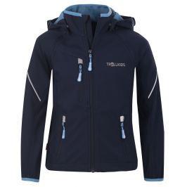 Trollkids Chlapčenská bunda Rondane s odopínateľnými rukávmi - tmavo modrá