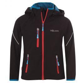 Trollkids Detská bunda Rondane s odopínateľnými rukávmi - tmavo modrá