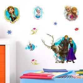 Walplus Samolepka na stenu Disney Frozen, 60x40 cm