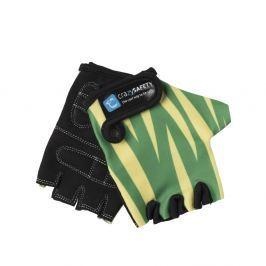 Crazy Safety Rukavice Zelený tiger, veľkosť S