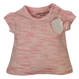 Dirkje Dievčenské tričko s ozdobou - oranžové