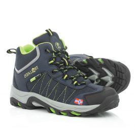 Trollkids Chlapčenská outdoorová obuv Kids Fjell Hiker - modrá