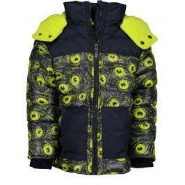 Blue Seven Chlapčenská bunda - žlto-čierna