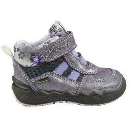 Primigi Dievčenské zateplené topánky - šedo-fialové