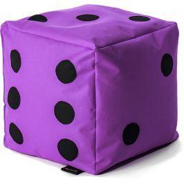 BulliBag Sedacia hracia kocka - fialová