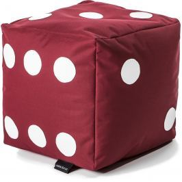 BulliBag Sedacia hracia kocka - červená