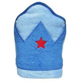 Playgro Detská osuška s kapucňou modrá