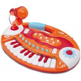 Alltoys Elektronické klávesy s mikrofónom, 18 klávesov