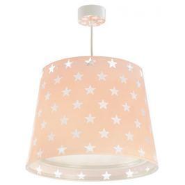 Dalber Detské stropné svietidlo hviezdičky, ružová