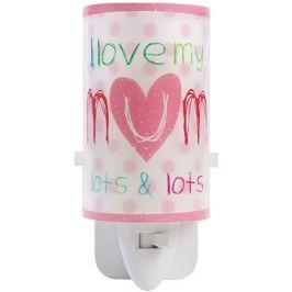 Dalber Detské nočné LED svetlo, I love my Mum