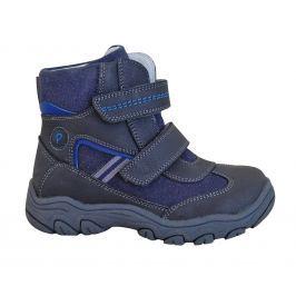 Protetika Chlapčenské zimné topánky Arko - šedo - modré