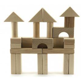 Teddies Kocky drevené prírodné 50 ks