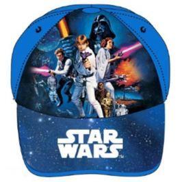 E plus M Chlapčenská šiltovka Star Wars - modrá