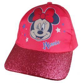E plus M Dievčenská šiltovka Minnie - tmavo ružová