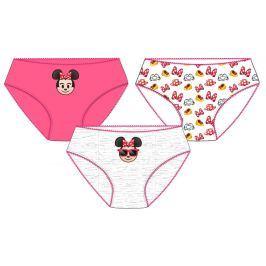 E plus M Dievčenské set 3ks nohavičiek Minnie - farebný