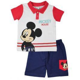 E plus M Chlapčenský letné set Mickey - farebný