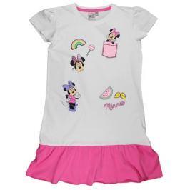 E plus M Divs šaty Minnie - bielo-ružové