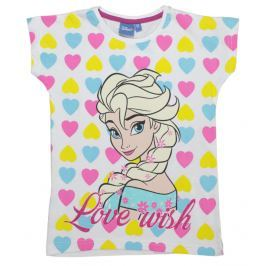 E plus M Dievčenské tričko Frozen - farebné