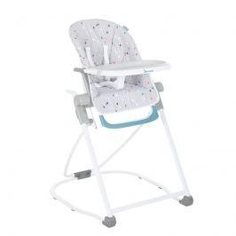 Badabulle Jedálenská stolička COMPACT CHAIR Grey