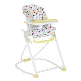 Badabulle Jedálenská stolička COMPACT CHAIR Yellow