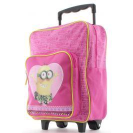 Mimoni Detský batoh na kolieskach Mimoni