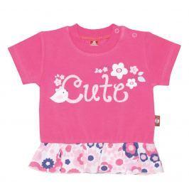 2be3 Dievčenské tričko Cute - ružové