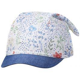 Broel Dievčenské šiltovka / šatka Florena - svetlo modrý