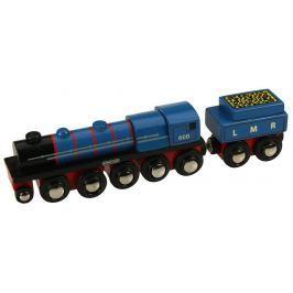 Bigjigs Replika lokomotívy LMR Gordon + 3 koľaje