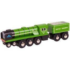 Bigjigs Rail Replika lokomotívy - Tornado