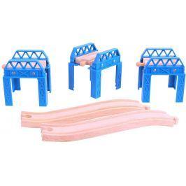 Bigjigs Rail Set mostné konštrukcie