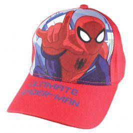 E plus M Chlapčenská šiltovka Spiderman - červená