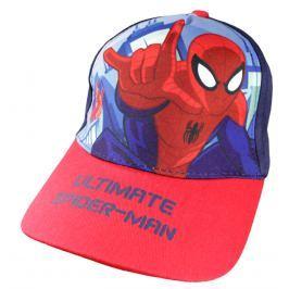 E plus M Chlapčenská šiltovka Spiderman - modrá