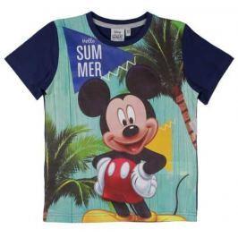 E plus M Chlapčenské tričko Mickey - modré
