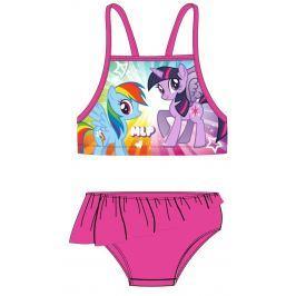 E plus M Dievčenské dvojdielne plavky My Little Pony - ružové