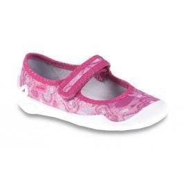 Befado Dievčenské balerínky so srdiečkami Blanca - ružové