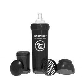 TWISTSHAKE Dojčenská fľaša Anti-Colic 330ml, Čierna