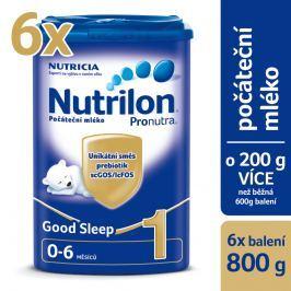 Nutrilon dojčenské mlieko 1 Pronutra Good Sleep 6x 800g